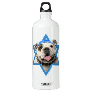 Hanukkah Star of David - Bulldog SIGG Traveler 1.0L Water Bottle