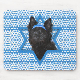 Hanukkah Star of David - Cairn Terrier Roscoe Mouse Pad