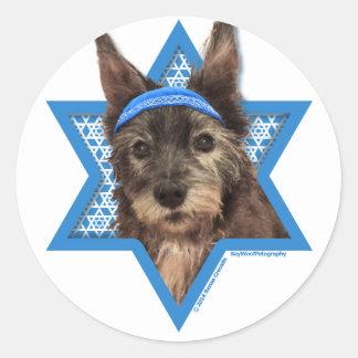 Hanukkah Star of David - Cairn Terrier - Trixie Stickers