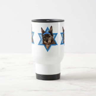 Hanukkah Star of David - Cairn Terrier - Trixie Travel Mug