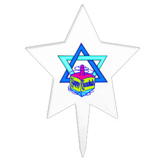 Hanukkah Star of David Cake Pick