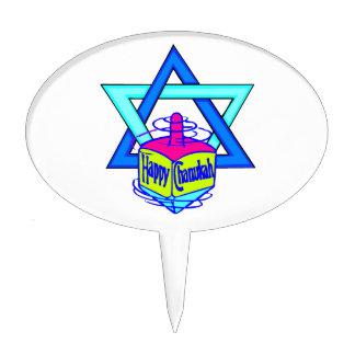 Hanukkah Star of David Cake Toppers