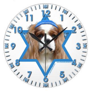 Hanukkah Star of David - Cavalier Clocks
