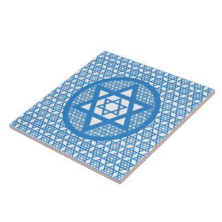 Hanukkah - Star of David Ceramic Tile