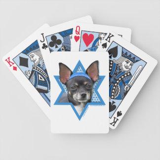 Hanukkah Star of David - Chihuahua Deck Of Cards