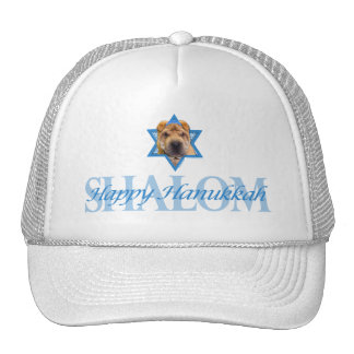 Hanukkah Star of David - Chinese Shar Pei Trucker Hat