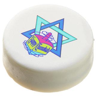 Hanukkah Star of David Chocolate Dipped Oreo