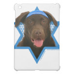 Hanukkah Star of David - Chocolate Labrador iPad Mini Cases