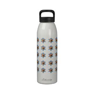Hanukkah Star of David - Chow Chow Drinking Bottle