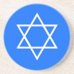 Hanukkah Star of David Coaster