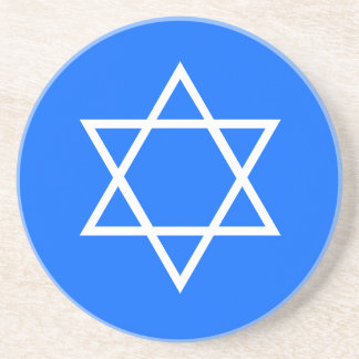 Hanukkah Star of David Coaster
