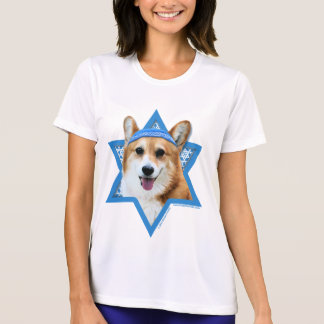 Hanukkah Star of David - Corgi - Owen T-Shirt