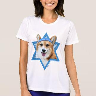 Hanukkah Star of David - Corgi - Owen T-Shirt