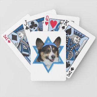 Hanukkah Star of David - Corgi Deck Of Cards