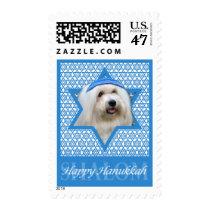 Hanukkah Star of David - Coton de Tulear Postage