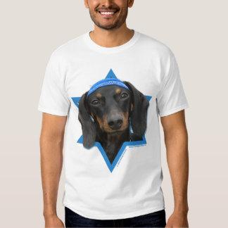 Hanukkah Star of David - Dachshund - Winston Tshirt