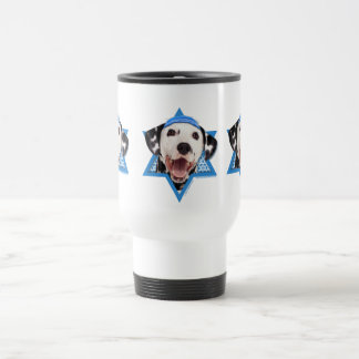 Hanukkah Star of David - Dalmatian Travel Mug