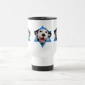 Hanukkah Star of David - Dalmatian Travel Mug