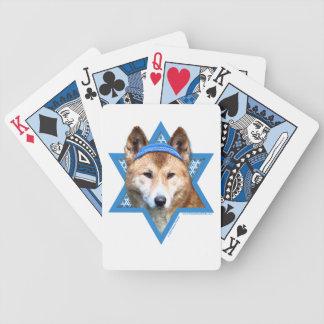Hanukkah Star of David - Dingo Card Deck