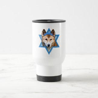Hanukkah Star of David - Dingo Travel Mug