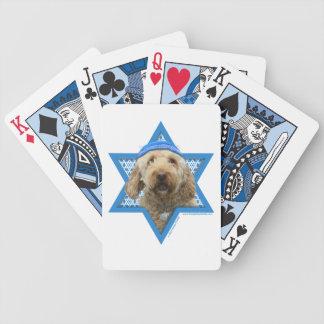 Hanukkah Star of David - GoldenDoodle Card Decks