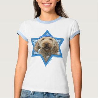Hanukkah Star of David - GoldenDoodle T-shirt