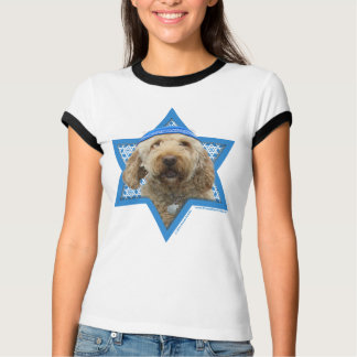 Hanukkah Star of David - GoldenDoodle T-Shirt