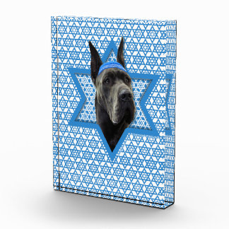 Hanukkah Star of David - Great Dane - Grey Award