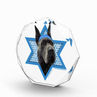 Hanukkah Star of David - Great Dane - Grey Awards