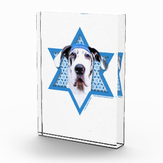 Hanukkah Star of David - Great Dane - Harlequin Award
