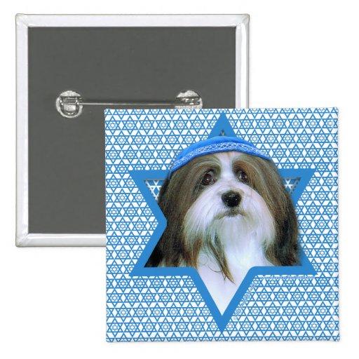 Hanukkah Star of David - Havanese Button
