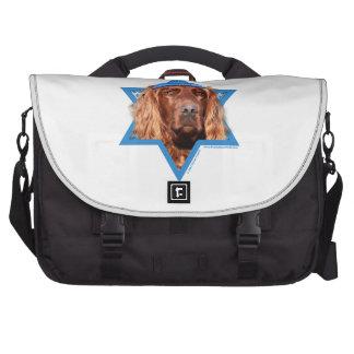 Hanukkah Star of David - Irish Setter Computer Bag