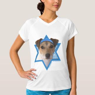 Hanukkah Star of David - Jack Russell Terrier T-Shirt