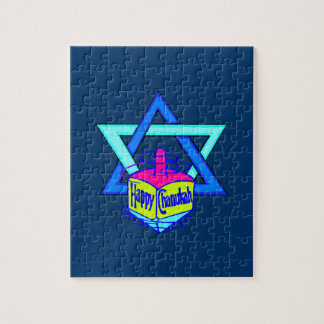 Hanukkah Star of David Jigsaw Puzzle