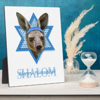 Hanukkah Star of David - Kangaroo Display Plaque