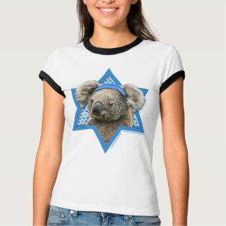 Hanukkah Star of David - Koala Bear T-Shirt