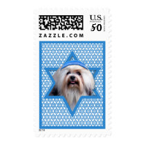 Hanukkah Star of David - Lowchen Postage