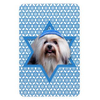 Hanukkah Star of David - Lowchen Magnet