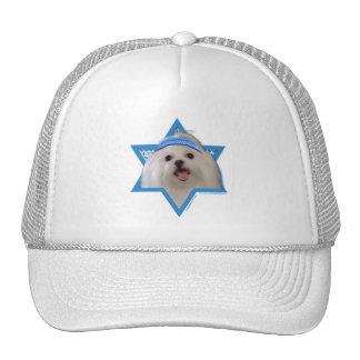 Hanukkah Star of David - Maltese Trucker Hat