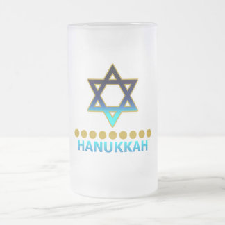 Hanukkah Star Of David Menorah Coffee Mug