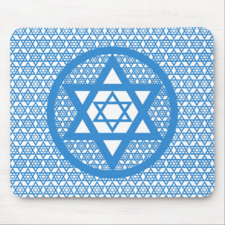 Hanukkah - Star of David Mouse Pad