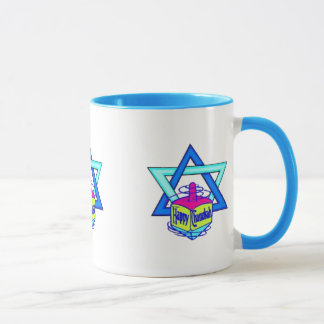 Hanukkah Star of David Mug