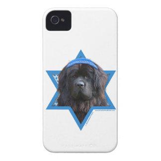 Hanukkah Star of David - Newfoundland iPhone 4 Cover
