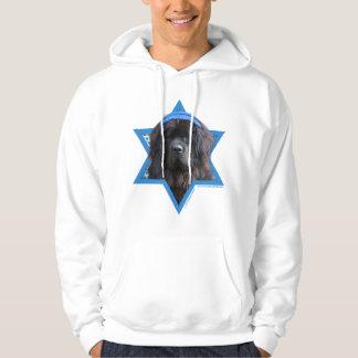 Hanukkah Star of David - Newfoundland Hoodie