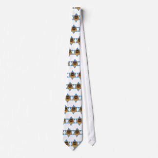 Hanukkah Star of David - Pekingese - Pebbles Neck Tie