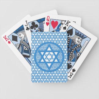 Hanukkah - Star of David Poker Cards