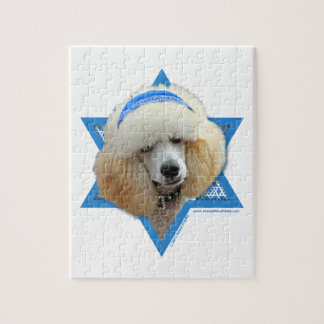 Hanukkah Star of David - Poodle - Apricot Jigsaw Puzzle