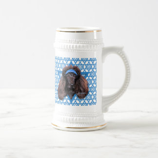 Hanukkah Star of David - Poodle - Bix Beer Stein
