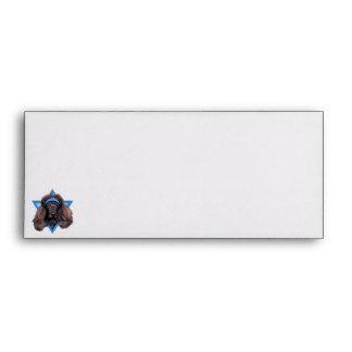 Hanukkah Star of David - Poodle - Bix Envelopes