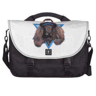 Hanukkah Star of David - Poodle - Bix Commuter Bags